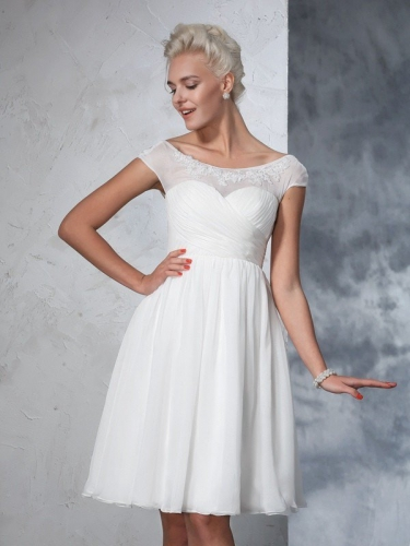 Short Wedding Dresses for Girls